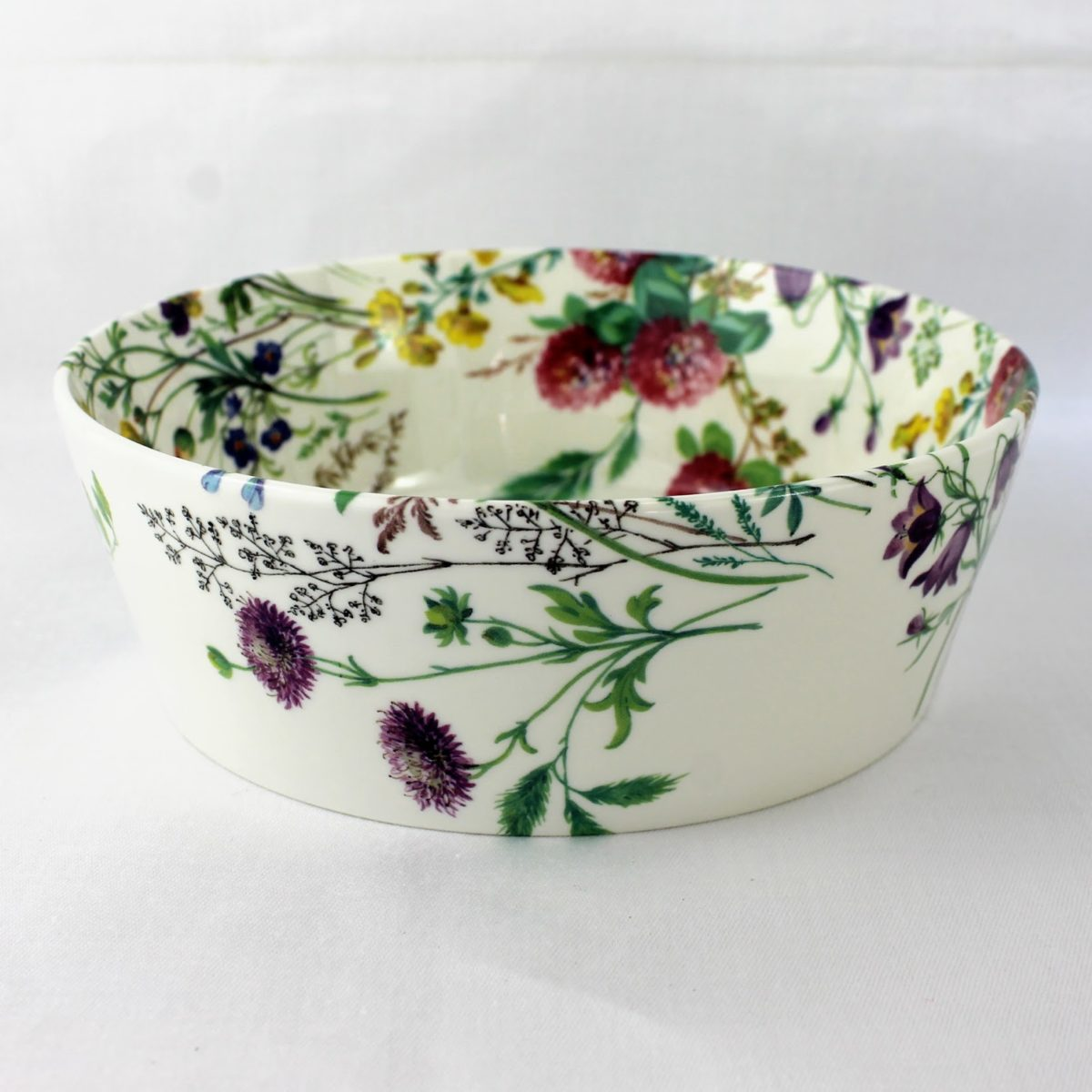 Field Flowers Serving Bowl 6 Rob Turner China Designs
