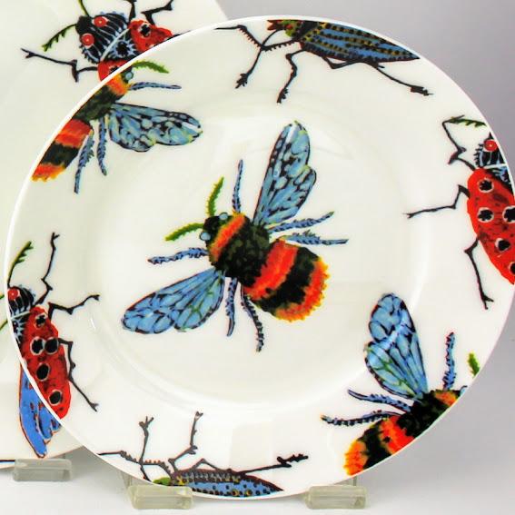 honey bee side plate