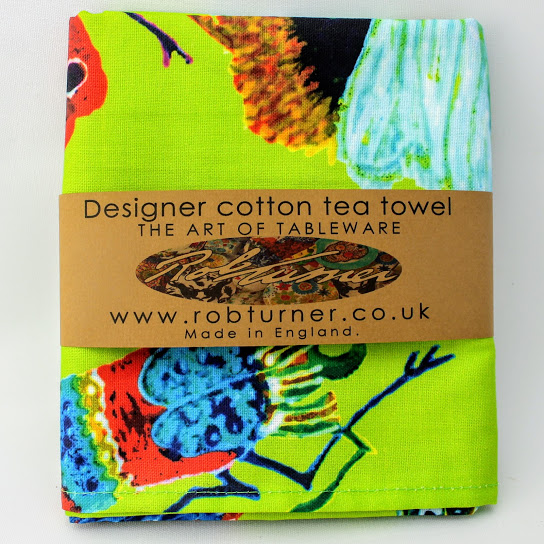 luxury tea towel insect design from Rob Turner
